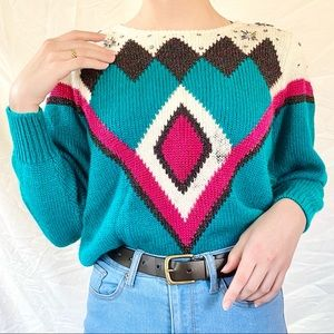 Vintage Diamond Sweater from Jaclyn Smith